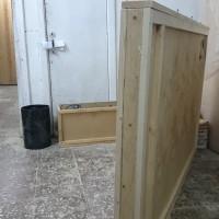 Плоский ящик из фанеры для упаковки