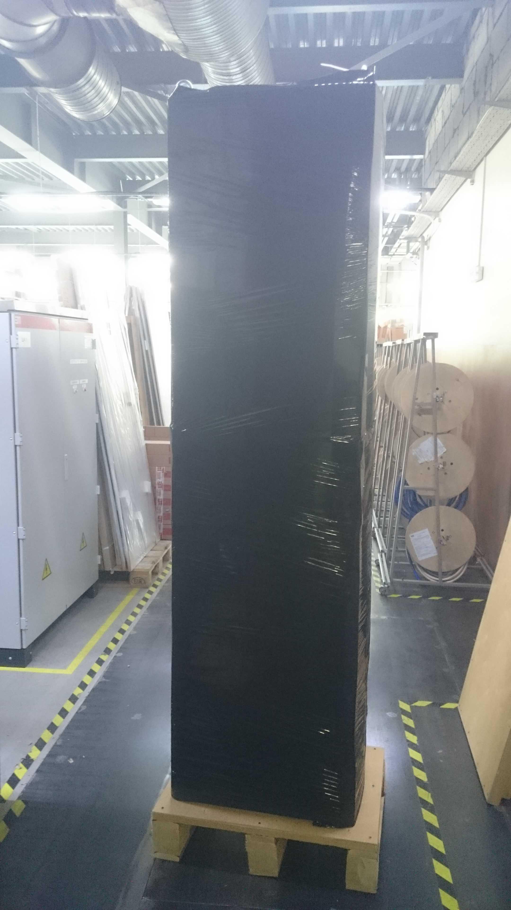 4й этап. упаковка в черную стрейч ленту