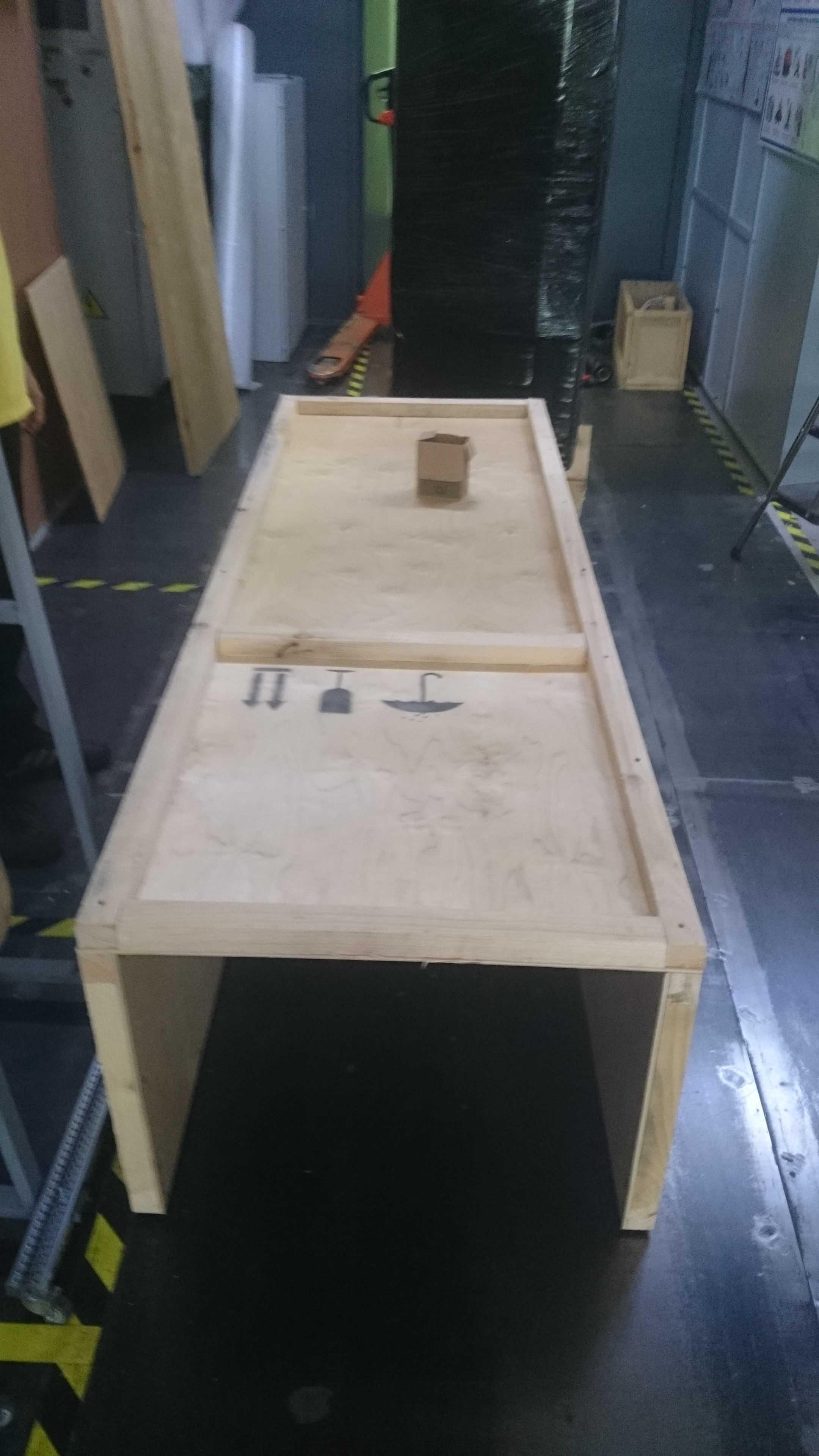 5й этап упаковка в фанерный ящик