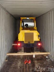 Упаковка для транспортировки снегоходов, квадроциклов и другой техники