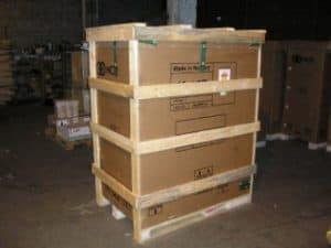 Упаковка картин для транспортировки