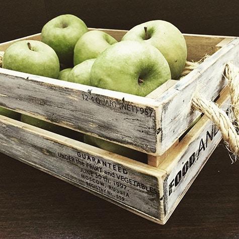 ящик фрукты